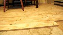 Plywood Flooring Painted