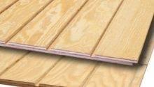 Plywood Siding Panel Common