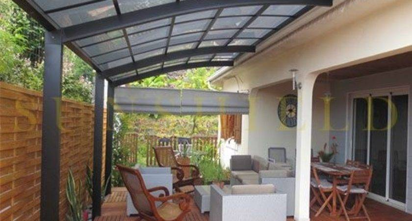 Polycarboante Patio Cover Aluminum Awning Sunshield