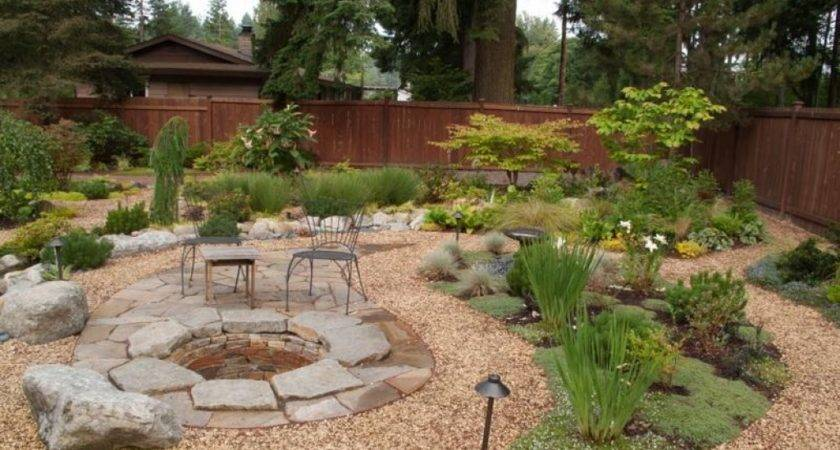 Pond Ideas Designs Pea Gravel Landscaping