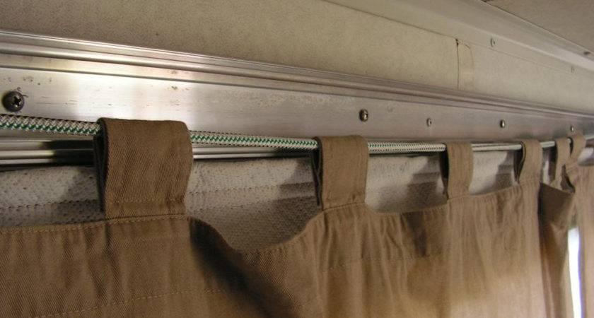 Pop Camper Curtain Rods