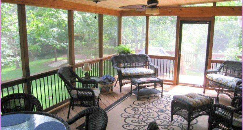 Popular Enclosed Porch Ideas Design Karenefoley