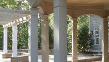 Porch Columns Traditional Patio Other Metro
