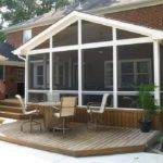 Porch Deck Designs Small Enclosed Front