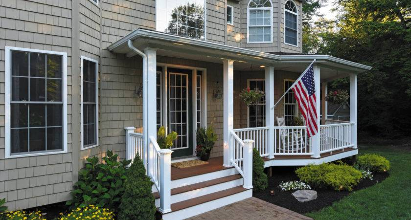 Porch Design Ideas Flooring Building Materials