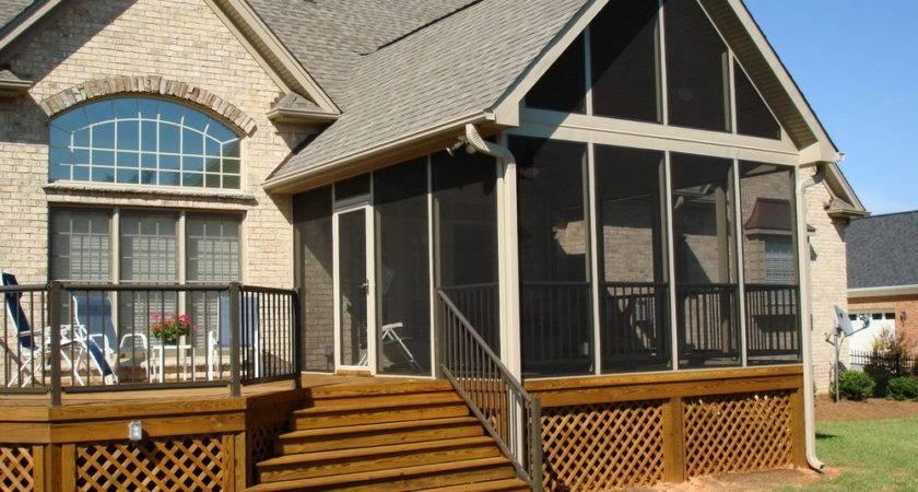 Porch Designs Mobile Homes Home Photos