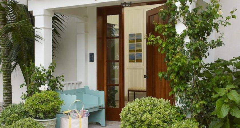 Porch Overhang Designs Traditional Wood Posts