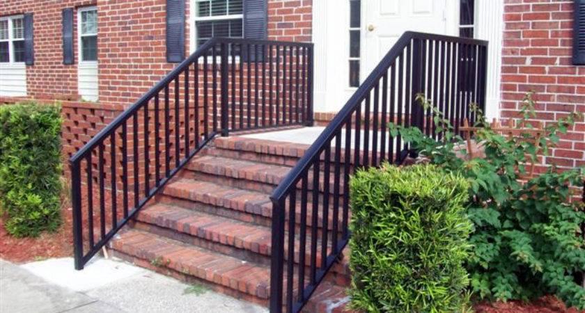 Porch Step Rails