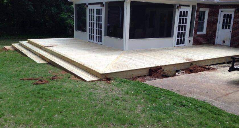 Porch Wrap Around Deck Stairs Carolina