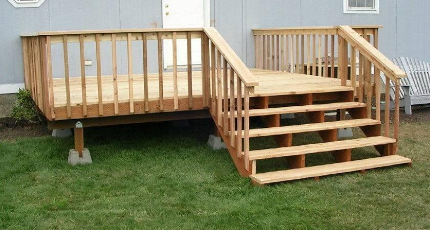 Porches Decks Mobile Homes Home Design Ideas