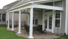 Porches Decks Pinterest Cement