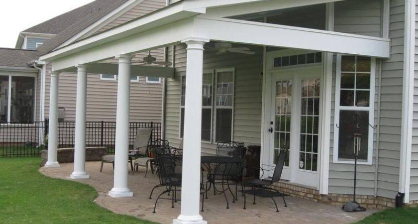 Porches Decks Pinterest Cement