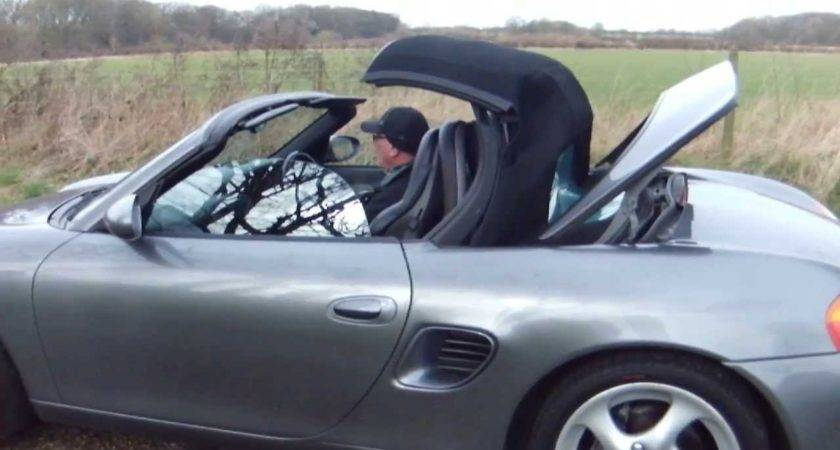 Porsche Boxster Roof Opening Closing Youtube