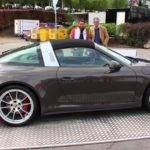 Porsche Targa Roof Action Some Sport Exhaust