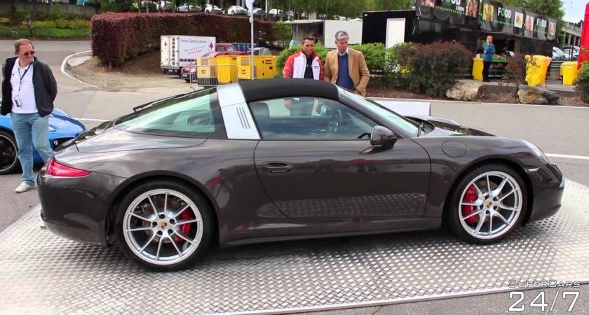Porsche Targa Roof Action Some Sport Exhaust