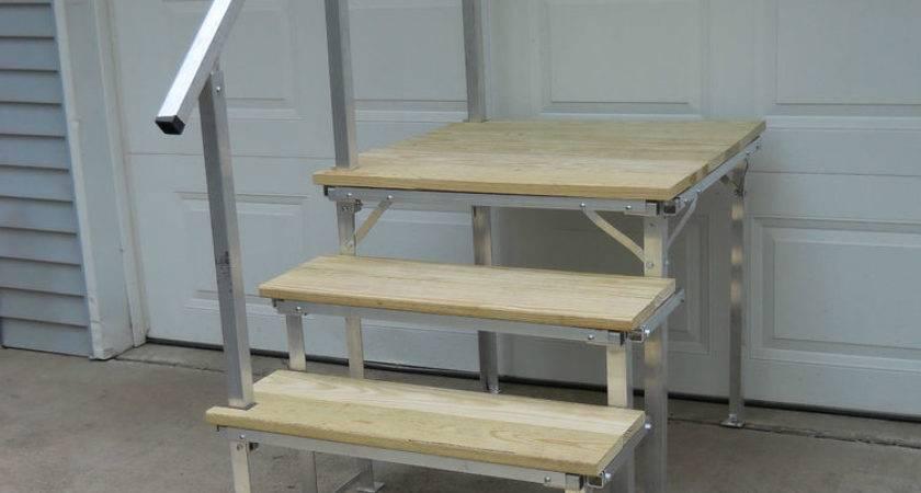 Portable Deck Steps Railings Ebay