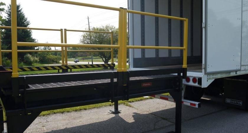 Portable Loading Dock Temporary Platforms Copperloy
