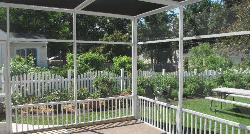 Portable Screen Porch Deck