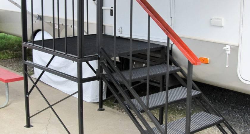 Portable Steps Decks