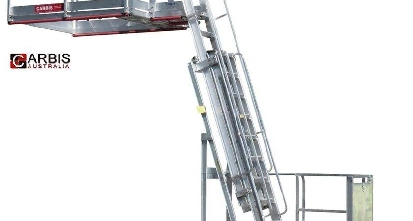 Portable Truck Rail Access Fall Protection