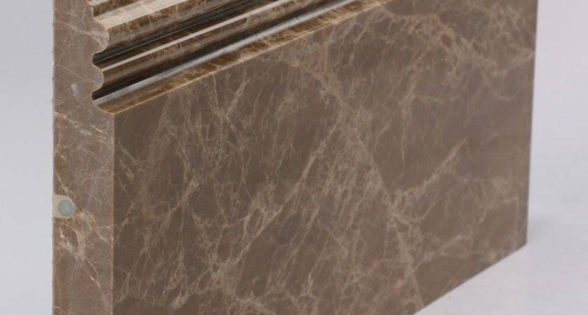 Portoro Gold Marble Skirting Board Flooring Black