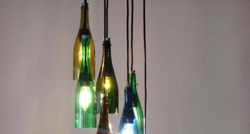Pottery Barn Wine Bottle Chandelier Junk Funk