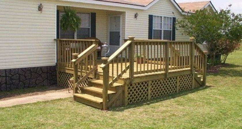 Pre Built Decks Mobile Homes Blablapartner