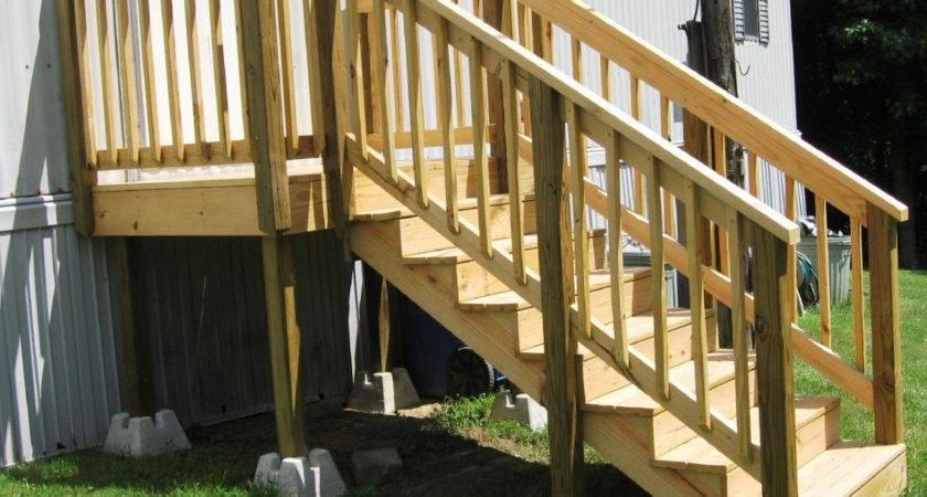 Pre Made Deck Steps Doska Krok Ulici Cabinet
