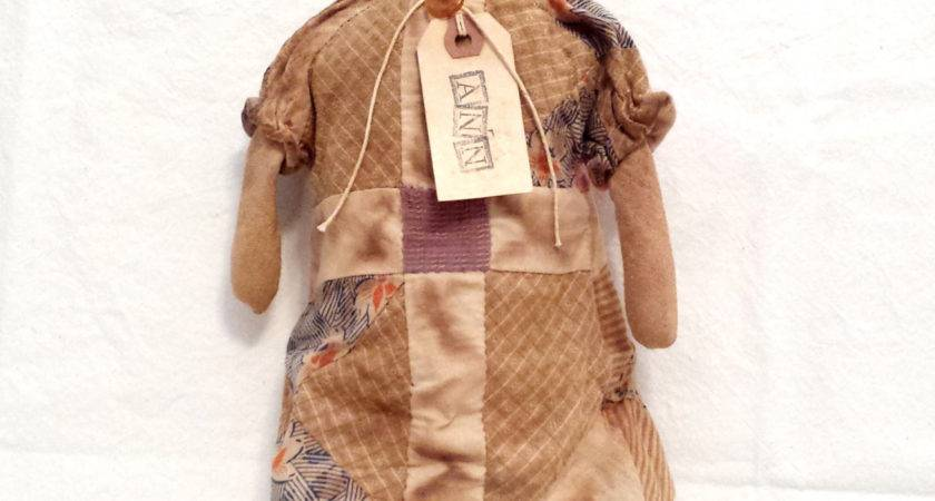 Precious Prim Primitive Handmade Raggedy Ann Doll