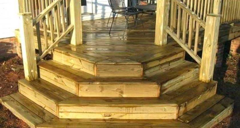 Premade Steps Wood Porch Salmaun
