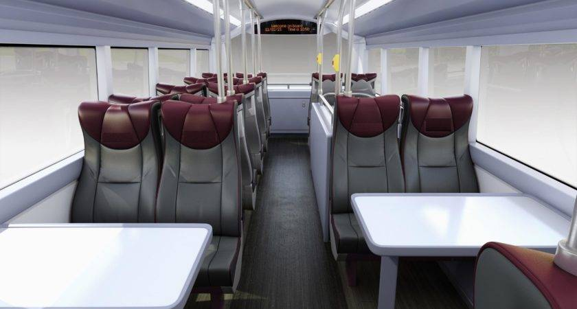 Premium Interior Bus Design Revealed Leigh