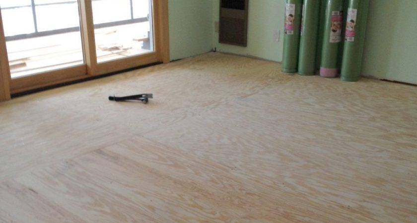 Preparing Subfloor Laminate Flooring