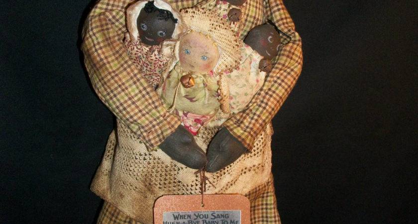 Prim Mammy Dolls Pinterest Primitives
