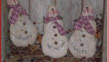 Primitive Christmas Crafts Make Kristal Project Edu