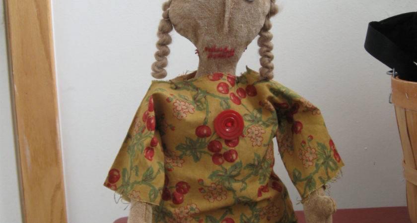 Primitive Doll Rosie Dolls Rag