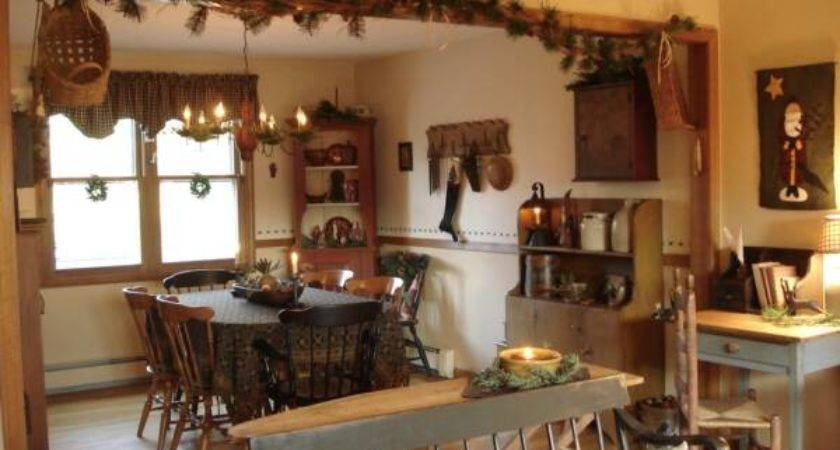 Primitive Kitchen Cabinets Traditional