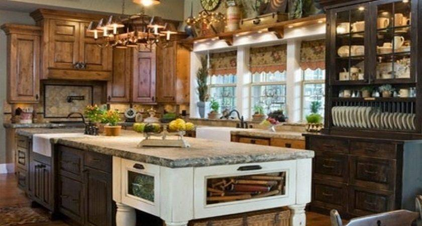 Primitive Kitchen Decor Decorating Ideas