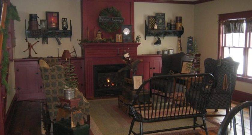 Primitive Livingroom Candice Olson Living