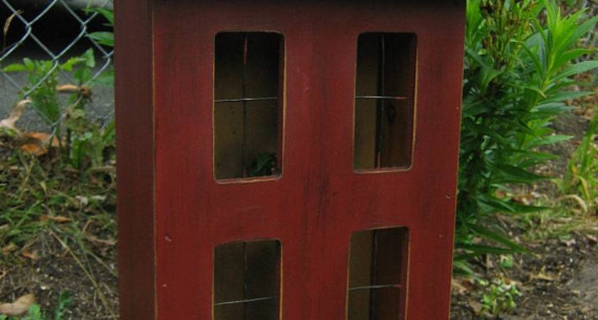 Primitive Wooden Lighted Saltbox House Overtheridgeprims