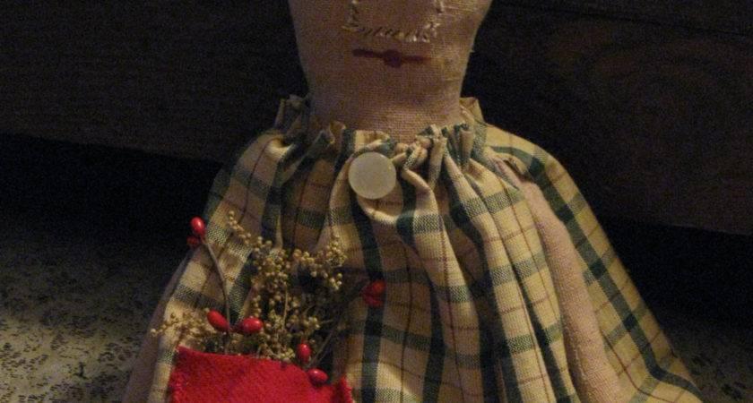 Primitives Primitive Dolls Christmas Annieshandmadedecor