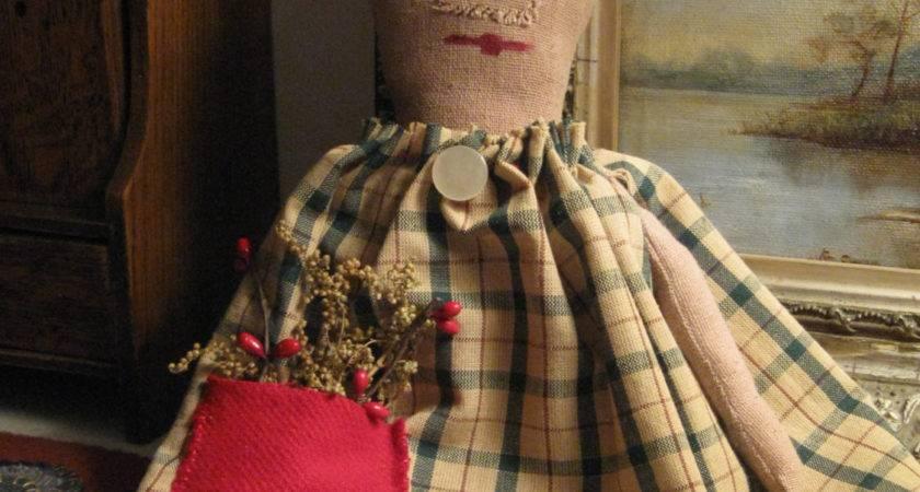 Primitives Primitive Dolls Christmas