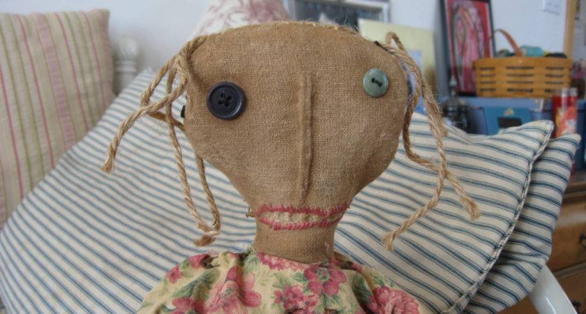 Primitives Primitive Dolls Ooak Doll Esther Ann