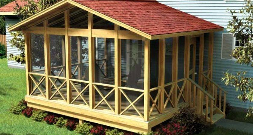 Project Plan Covered Screen Porch