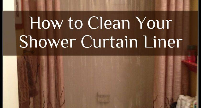 Prudent Pantry Clean Your Shower Curtain Liner