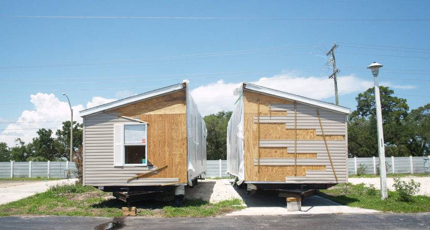 Put Double Wide Mobile Home Manufactured