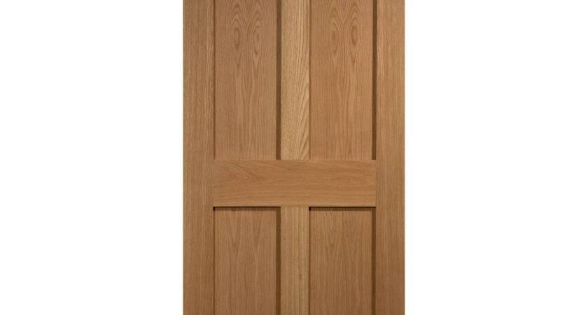 Raby Panel Oak Veneer Interior Door Gay
