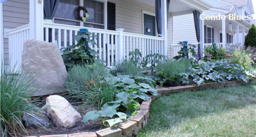 Raised Flower Beds Front House Imgkid