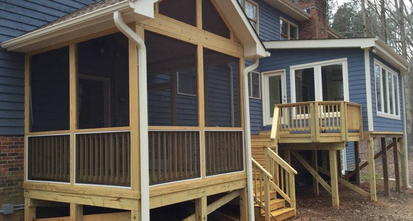 Raleigh Combination Project Sunroom Screened Porch