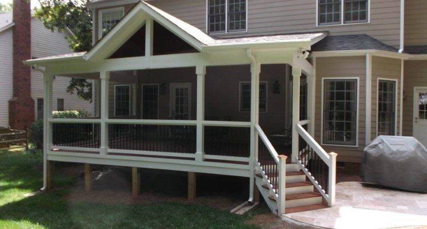 Raleigh Covered Porches Custom Shade Your Backyard