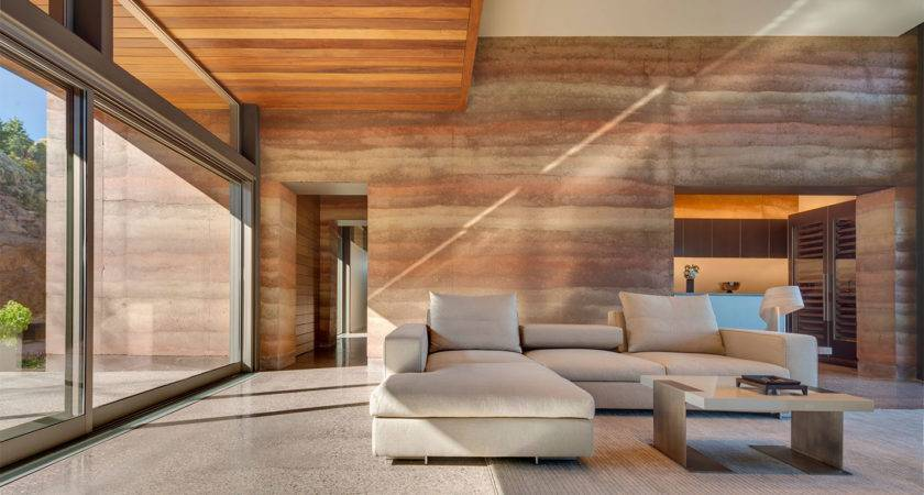 Rammed Earth Construction Cool Again Hot